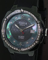 Pre-Owned ALPINA BLACK CERAMIC & DIAMONDS