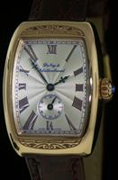 Pre-Owned DUBEY & SCHALDENBRAND 18KT ROSE GOLD MANUAL WIND