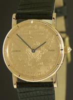 Pre-Owned CORUM 10 DOLLAR 22KT GOLD COIN