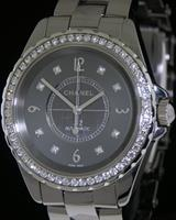 Pre-Owned CHANEL J12 CHROMATIC DIAMOND CERAMIC
