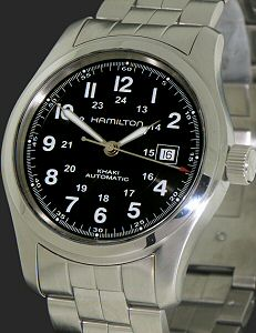 d71989397 Hamilton Khaki Field Automatic 42mm h70515137 - Pre-Owned Mens Watches