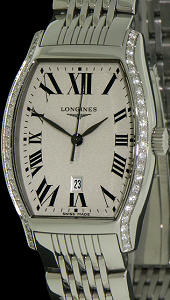 Pre-Owned LONGINES EVIDENZA WITH DIAMONDS