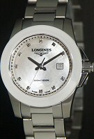 Pre-Owned LONGINES CONQUEST CERAMIC BEZEL SPORT