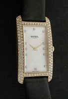 Pre-Owned NIVREL 18KT GOLD MOP WITH DIAMONDS