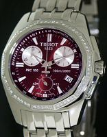 Pre-Owned TISSOT RED DIAMOND CHRONOGRAPH