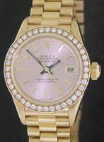 Pre-Owned ROLEX DATEJUST 18KT GOLD W/DIAMONDS