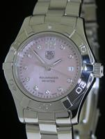 Pre-Owned TAG HEUER AQUARACER PINK MOP DIAMOND