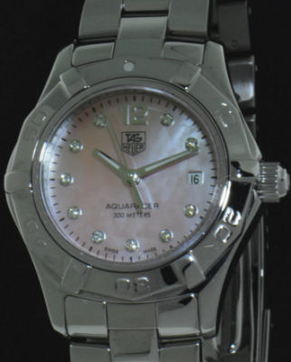 Pre-Owned TAG HEUER AQUARACER 2000 WITH DIAMONDS