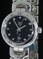 Pre-Owned TAG HEUER LINK BLACK DIAMOND DIAL