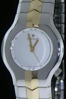Pre-Owned TAG HEUER ALTER EGO TWO-TONE WHITE DIAL
