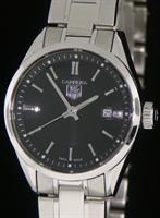 Pre-Owned TAG HEUER CARRERA BLACK DIAL 27MM