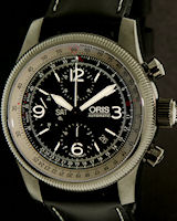 Pre-Owned ORIS CHRONOGRAPH WITH E6B BEZEL