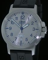 Pre-Owned ORIS BC3 DAY/DATE SILVER DIAL