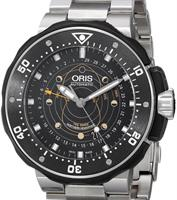 Pre-Owned ORIS TITANIUM DIVERS MOON PHASE