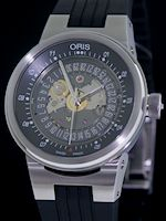 Pre-Owned ORIS WILLIAMS F1 TEAM SKELETON
