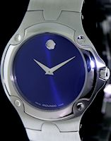Pre-Owned MOVADO SPORTS EDITION BLUE DIAL