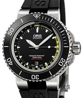 Pre-Owned ORIS AQUIS BUILT-IN DEPTH GAUGE