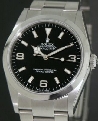 Pre-Owned ROLEX EXPLORER I OYSTER CHRONOMETER