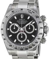 Pre-Owned ROLEX COSMOGRAPH DAYTONA BLACK DIAL