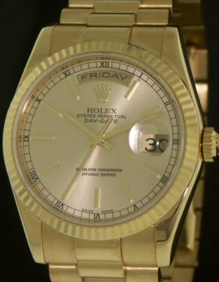 Pre-Owned ROLEX DAY-DATE PRESIDENT 18KT