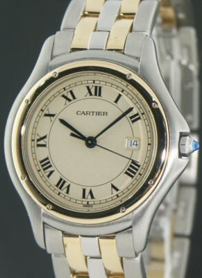 Pre-Owned CARTIER PANTHER COUGAR