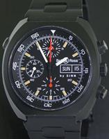 Pre-Owned BELL & ROSS SPACE ONE BLACK STEEL BY SINN