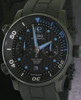 Pre-Owned MIDO MULTIFORT DIVER CHRONO BLUE