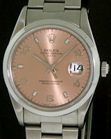 Pre-Owned ROLEX COPPER OYSTER PERPETUAL DATE