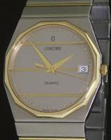 Pre-Owned CONCORD MARINER SG 18KT DOLD AND STEEL