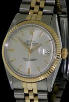 Pre-Owned ROLEX OYSTER DATEJUST 14KT/STEEL
