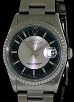 Pre-Owned ROLEX DATEJUST BULLSEYE DIAL
