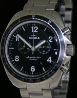 Pre-Owned SHINOLA RAMBLER 600 TITANIUM CHRONO