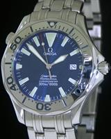 Pre-Owned OMEGA SEAMASTER BLUE DIAL AUTOMATIC