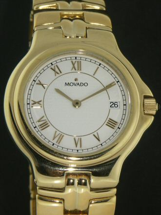 Pre-Owned MOVADO GOLD TONE DRESS