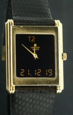 Pre-Owned UNIVERSAL GENEVE ANA-DIGI