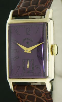 Pre-Owned LORD ELGIN 14KT GF