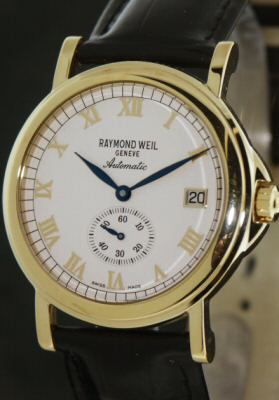 Raymond Weil Automatic 2835 Pre Owned Mens Watches