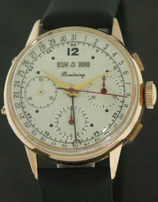 Pre-Owned BREITLING 18KT ROSE GOLD