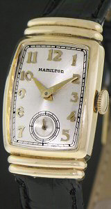 Pre-Owned HAMILTON GOLD FILLED