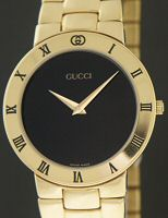 Pre-Owned GUCCI ALL GOLD ELECTROPLATED