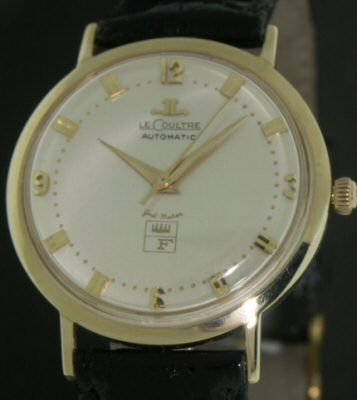 Pre-Owned LE COULTRE 14KT GOLD AUTOMATIC