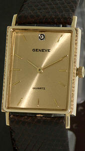 Pre-Owned GENEVE 14KT GOLD CASE