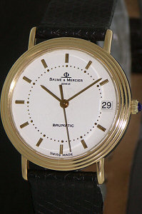 Pre-Owned BAUME AND MERCIER 18 KT