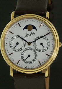 Pre-Owned JEAN D`EVE MOON PHASE DAY/DATE AND MONTH