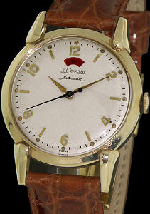 Pre-Owned LE COULTRE 10KT GOLD FILLED POWER RESERVE