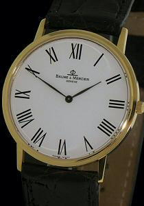 Pre-Owned BAUME & MERCIER CLASSIMA 18KT ULTRA SLIM