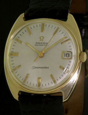 Pre-Owned OMEGA 14KT SOLID GOLD SEAMASTER