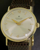 Pre-Owned HAMILTON 10KT GOLD MASTERPIECE WIND-UP