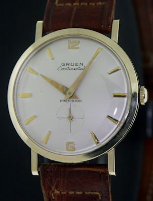 b811d5c6b494 Gruen Continental Precision 10kt Gf c89332 - Pre-Owned Mens Watches