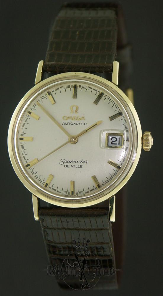 omega seamaster de ville auto km6610 pre owned mens watches